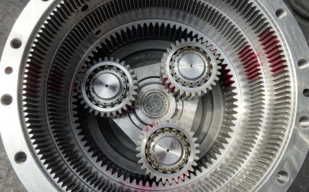 Převodovka planetová vícestupňová - multistage planetary gearbox 1