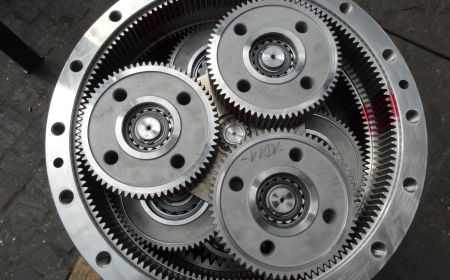 Převodovka planetová vícestupňová - multistage planetary gearbox 2
